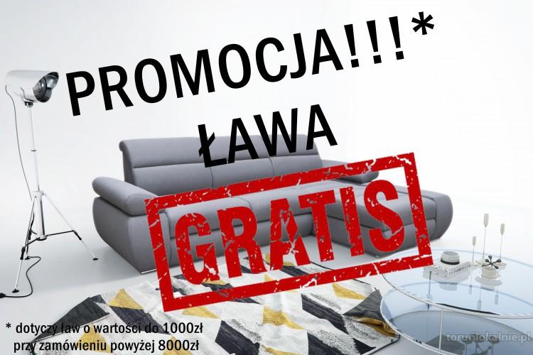 LETNIA PROMOCJA!!  Przy zakupie kompletu bądź narożnika wypoczynkowego powyżej 8000 zł, ława GRATIS!